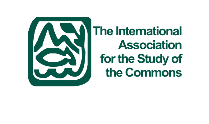 Logo for the international association for the study of the commons